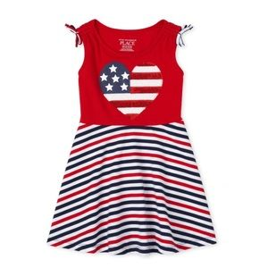 NWT PLACE Americana Summer Dress 18-24mo